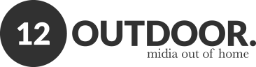 Midia out of home - 12OUTDOOR